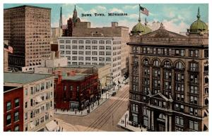 Wisconsin  Milwaukee ,  Down Town