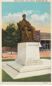 Lincoln Statue , Court Square , HODGENVILLE , Kentucky , 1910s