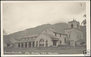 venezuela, CARACAS, Country Club Blandin (1940s) RPPC
