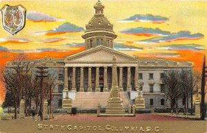 LP59  Columbia South Carolina State Capitol Postcard