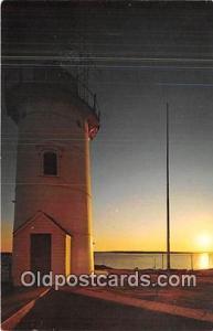Cape Cod, Mass, USA Postcard Post Card Nobska Lighthouse, Woods Hole