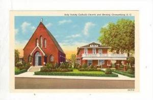 Trinity Catholic Church, Rectory,Orangeburg South Carolina, 1910s