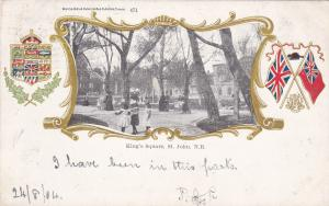 King's Square , ST. JOHN , New Brunswick , Canada , PU-1904