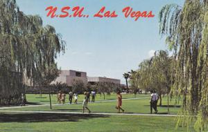 Campus view of Nevada Southern University, LAS VEGAS , Nevada , 1940-60s
