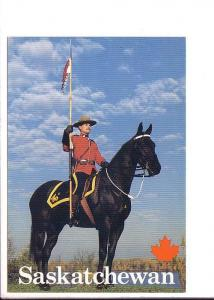 RCMP Mounted Police Officer, Saskatchewan, Tourism and Small Business