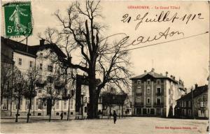 CPA GÉRARDMER le Grand Tileuil (401610)
