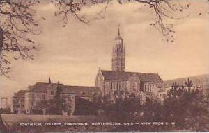 Ohio Worthington Ponitifical College Josephinum View From SW Artvue