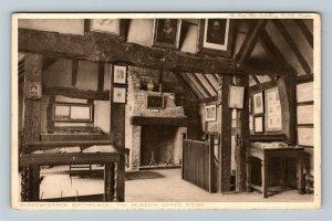 Stratford-Upon-Avon UK-United Kingdom, Shakespeare's Birthplace Vintage Postcard
