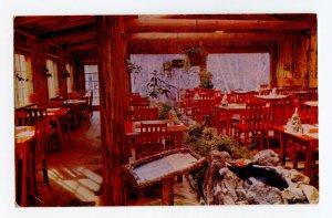 Garden Dining Room River Inn Big Sur CA Vintage Postcard #1 Standard View Card