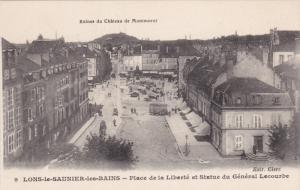LONS LE SAUNIER LES BAINS, Jura, France, 1900-1910's; Place De La Liberte Et ...
