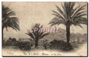 Cannes Old Postcard Le Suquet