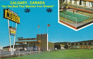 Canada West Valley Motel Calgary Alberta