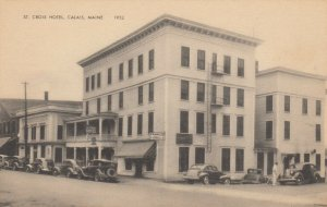 CALAIS , Maine, 1920-30s ; Croix Hoel