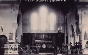 St James Emsworth Hampshire Church Real Photo Postcard