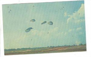 Mass Parachute Jump , US Army , 40-60s