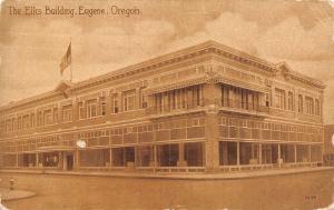 Eugene Oregon~The Elks Building~1910 Postcard