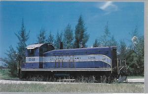 TRAINS,FLORIDA GULF COAST RAILROAD MUSEUM, PARRISH, FLORIDA, ATLANTIC COAST 648