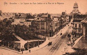 Le Square du Petit Sablon et la Rue de la Regence,Brussels,Belgium BIN