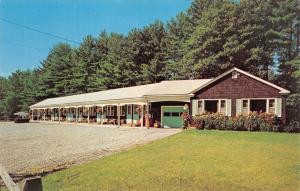 Windham Maine 1950-60s Postcard Suburban Pines Motel
