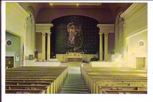 Christ Chapel Interior, Gettysburg, Pennsylvania,