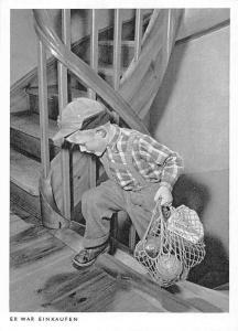 Er War Einkaufen, 2 Gekuppelte Elektronenblitzgerate, Little Boy Carrying