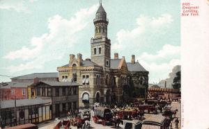 Emigrant Landing, New York City, New York, Early Postcard, unused