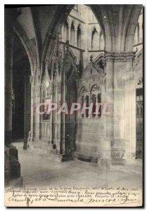 Postcard Ancient Church of Our Lady of the Thorn near Chalons Chapel Apse
