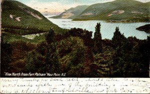 New York West Point View North From Fort Putnam 1905