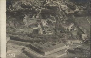 WWI France Aerial View of Vaux c1915 Real Photo Postcard