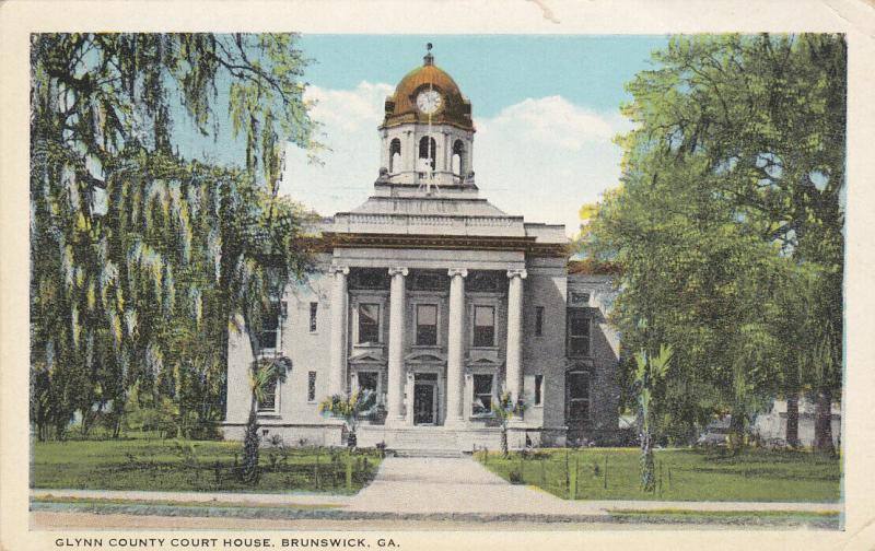 BRUNSWICK , Georgia , 10-20s ; Glynn County Court House