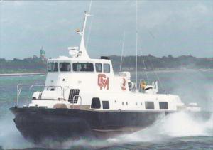 HM218 Sidewall Hovercraft , Gray MacKenzie Crew Boat for Operations ,  Arabia...