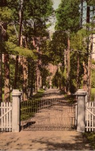 Tennessee Nashville The Hermitage Gate and Entrance Home Of General Andrew Ja...