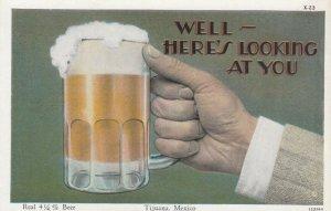 TIJUANA , BC , Mexico , 1920-30s ; Beer Mug