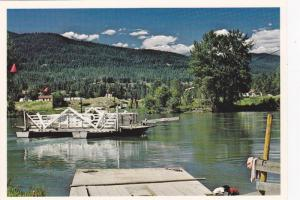 Cable Car Ferry , LITTLE FORT , B.C. , Canada , 50-70s