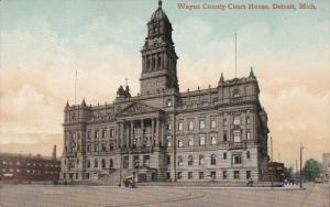 Court House , DETROIT , Michigan , PU-1909