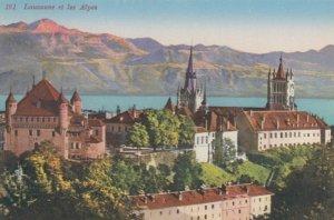 LAUSANNE, Switzerland, 1900-10s; Lausanne et les Alpes