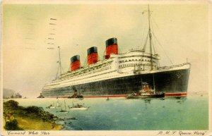 Cunard White Star Line - RMS Queen Mary