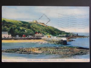 Jersey: Rozel Harbour, Channel Islands c1954 Pub by Raphael Tuck