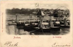 CPA ARNHEM De Schipbrug NETHERLANDS (604676)