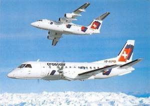 AVRO RJ 85 Jumbolino, SAAB 340 Cityliner Airplanes Crossair