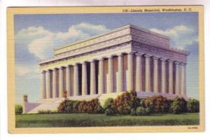 Closeup, Lincoln Memorial, Washington DC,