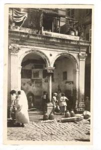 RP: Alger - Casbah Fontaine Turque de la rue de la Casbah, Algeria, 20-40s