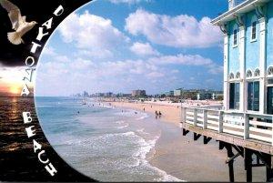 Florida Daytona Beach View Off The Main Street Pier