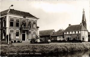 CPA Wildervank Gemeentehuis N.H.Pastorie NETHERLANDS (728368)
