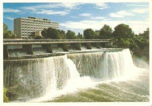 CMI0399 canada ontario ottawa rideau falls city hall bridge