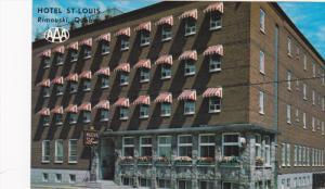 H/MOTEL ST LOUIS , Rimouski , Quebec , Canada , 50-60s