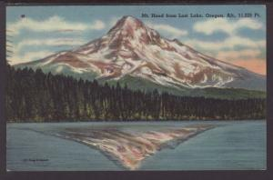 Mt Hood From Lost Lake,OR Postcard