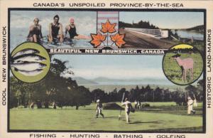 Golf , New Brunswick , Canada , 30-40s