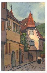 Kaysersberg, France 1910-30s