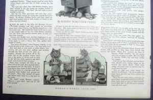 Magazine Animal Story People of Petland Kittens Harry Frees